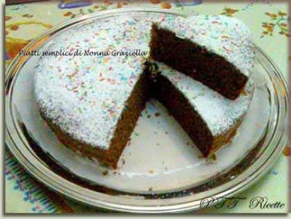 Torta morbida al Nesquik