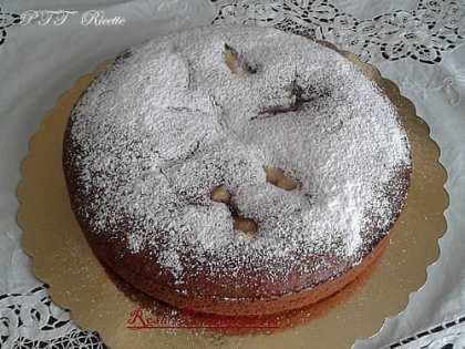 Torta Nua con crema pasticcera e Nutella
