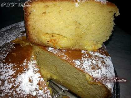 Torta Nua soffice con crema all'arancia