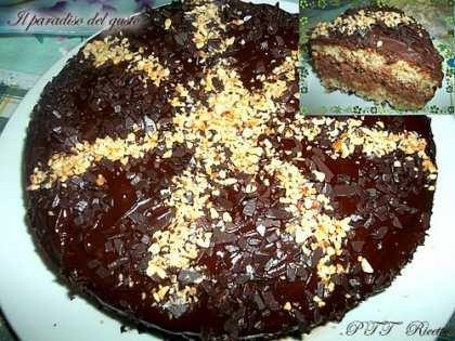 Torta Nutella e ricotta