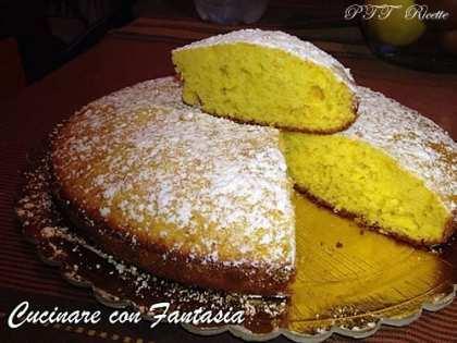 Torta profumata al mandarino