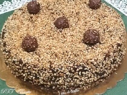 Torta Rocher con crema al mascarpone