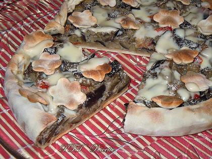 Torta salata con pasta matta