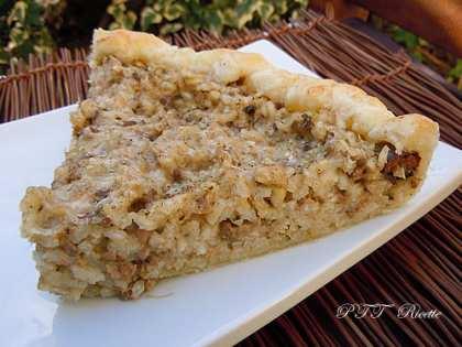 Torta salata di riso