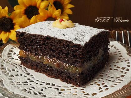Torta soffice al cacao senza uova e burro