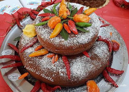 Torta soffice al cioccolato e peperoncino