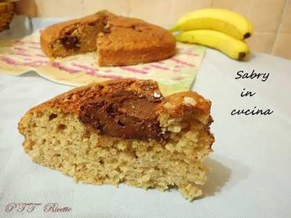 Torta soffice alla banana e Nutella