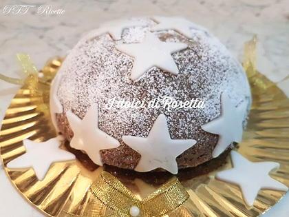Torta stellata al cacao