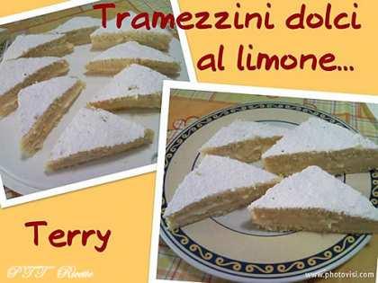Tramezzini dolci al limone
